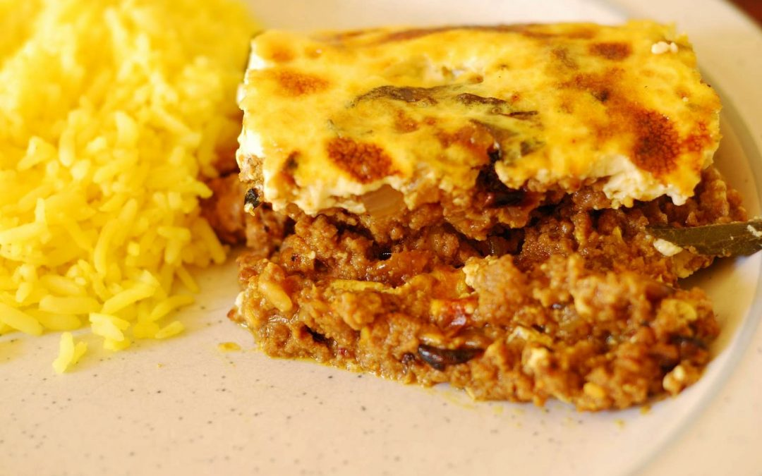 Recipe of the month: South African Bobotie