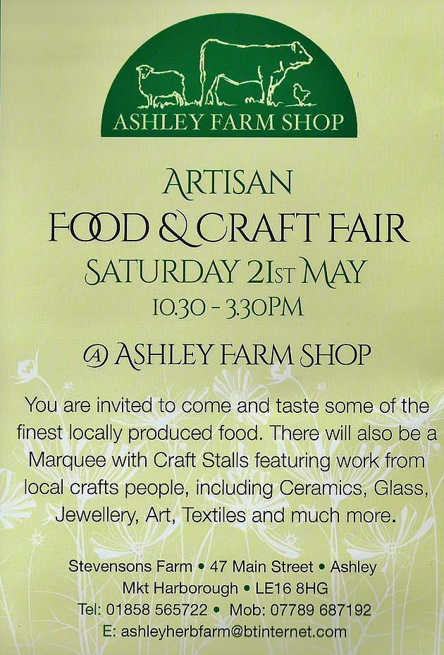 craft fair 21st may