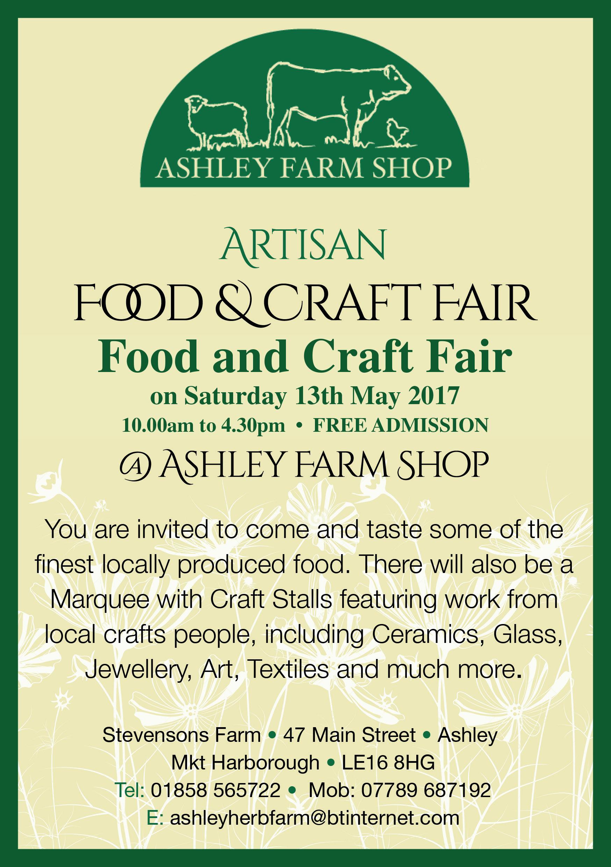 Ashley Farm Shop Fair Flyer May 2017