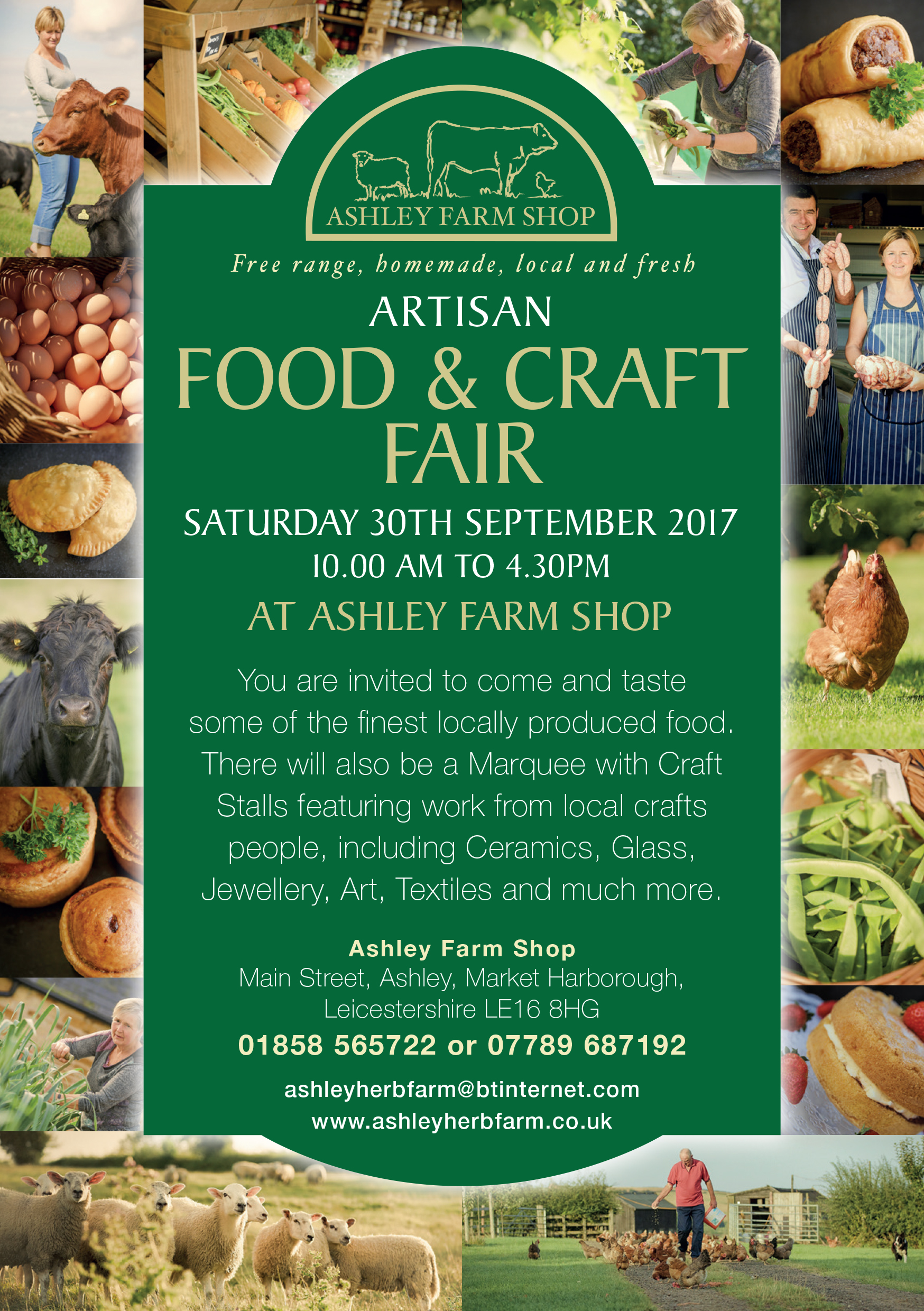 Ashley Farm A5 Flyer